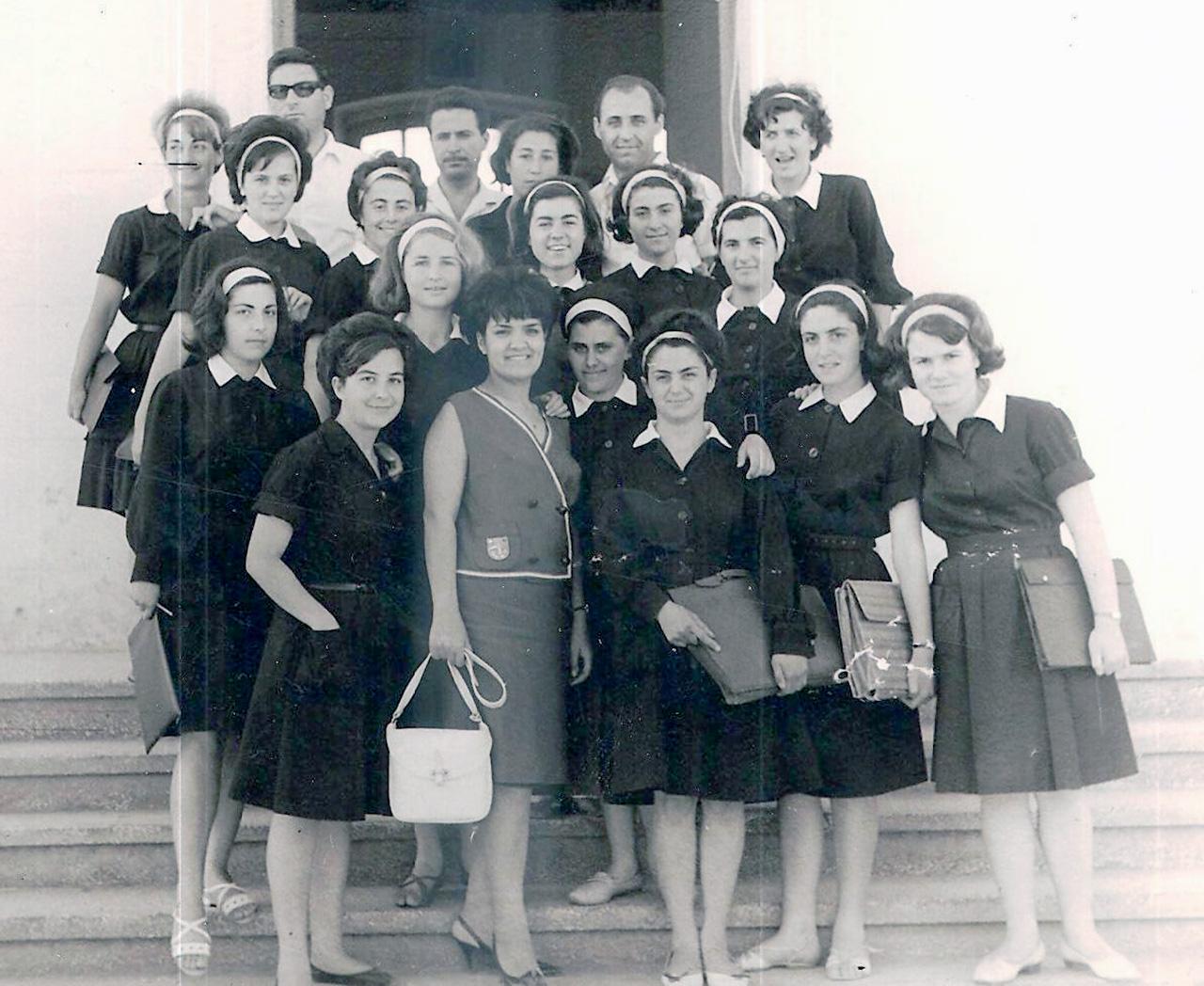Απόφοιτες Γυμνασίου Θηλέων 1965